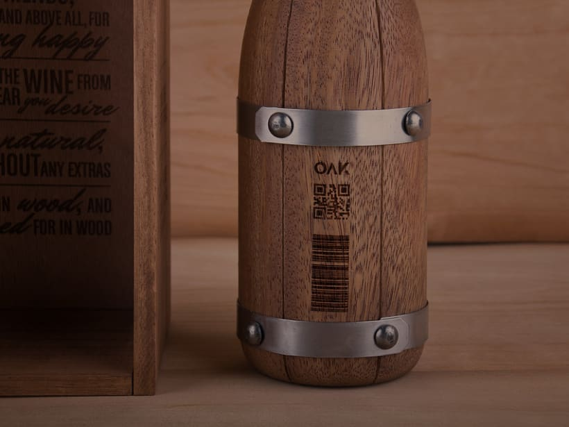 OAK wine | Packaging 7