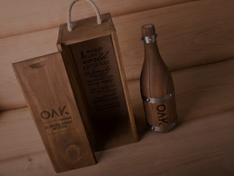 OAK wine | Packaging 10