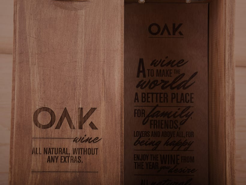 OAK wine | Packaging 11