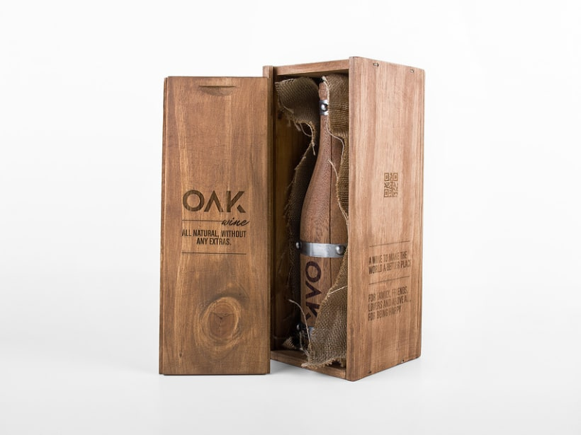 OAK wine | Packaging 18