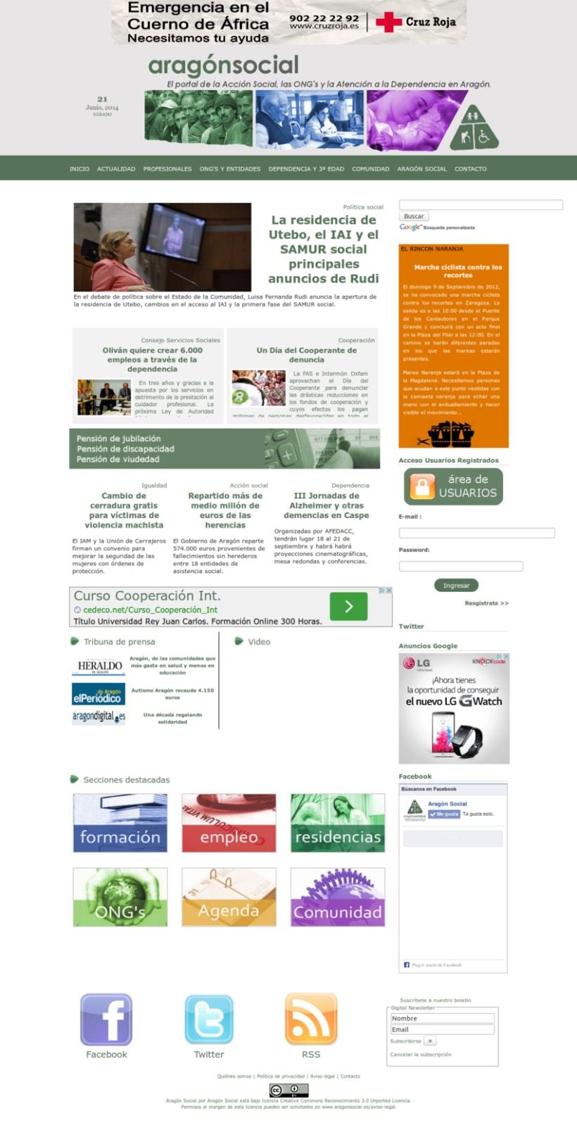 Portal acción social 0