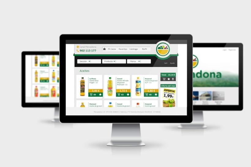 Mercadona Redesign Concept 2