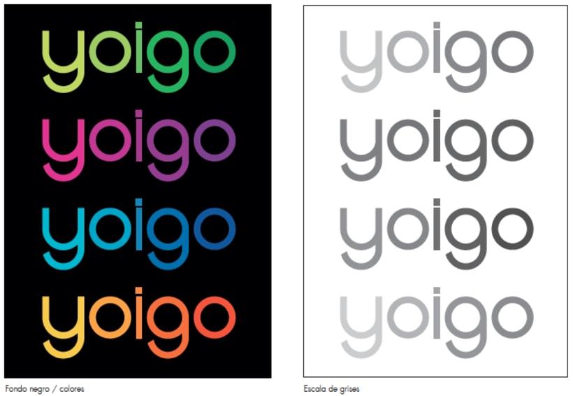 Re-diseño imagen visual YOIGO 1