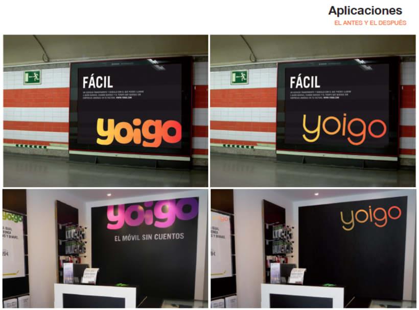 Re-diseño imagen visual YOIGO 2