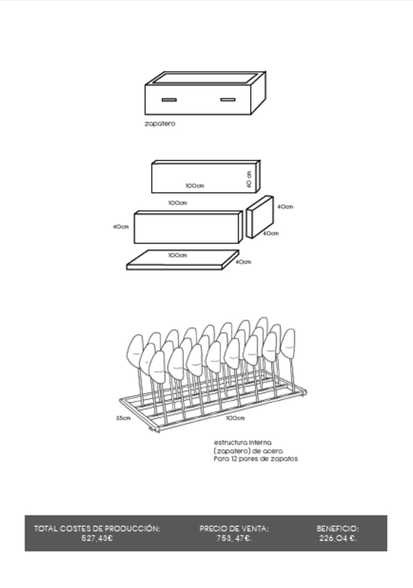 Diseño de un mueble para TV - concepto 6