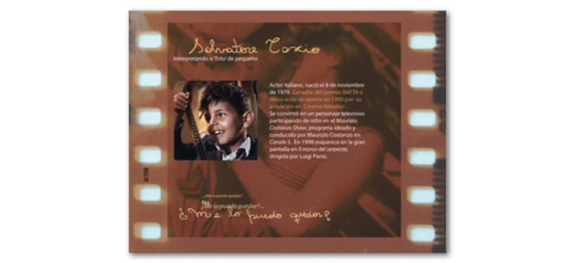 "Booklet del film ""Cinema Paradiso"" 4"