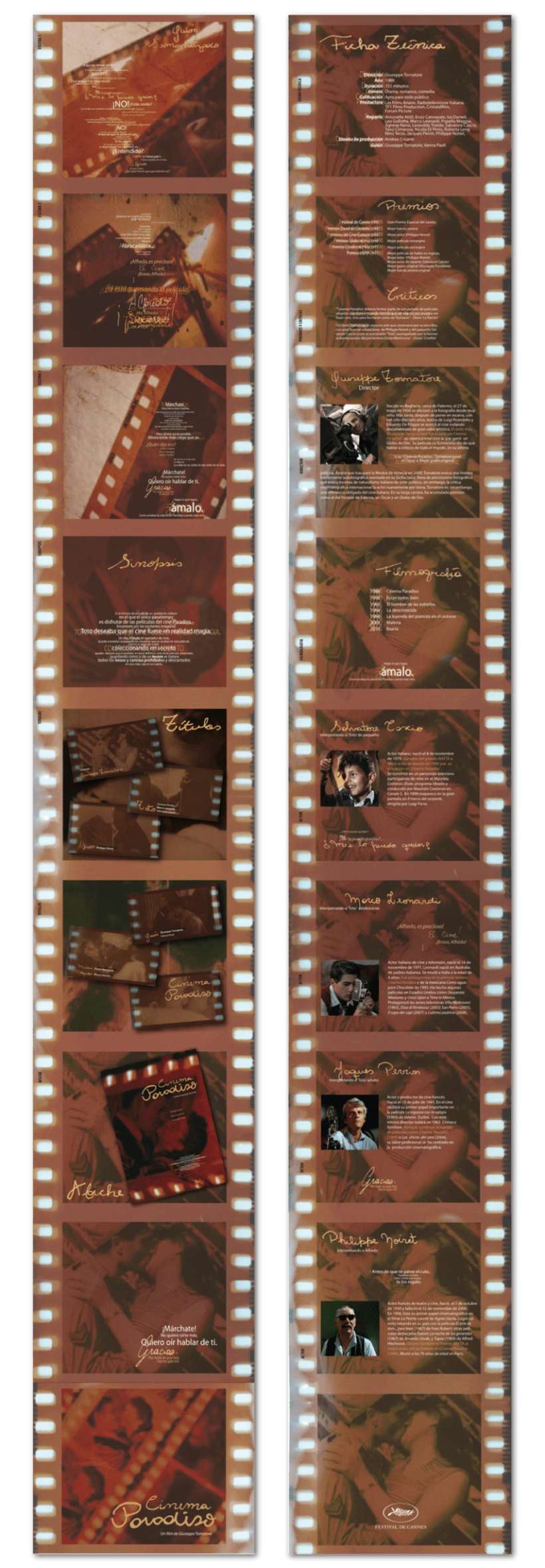 "Booklet del film ""Cinema Paradiso"" 3"