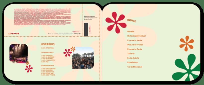 Librillo de festival ficticio Woodstock 2013 4