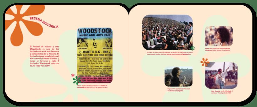 Librillo de festival ficticio Woodstock 2013 5