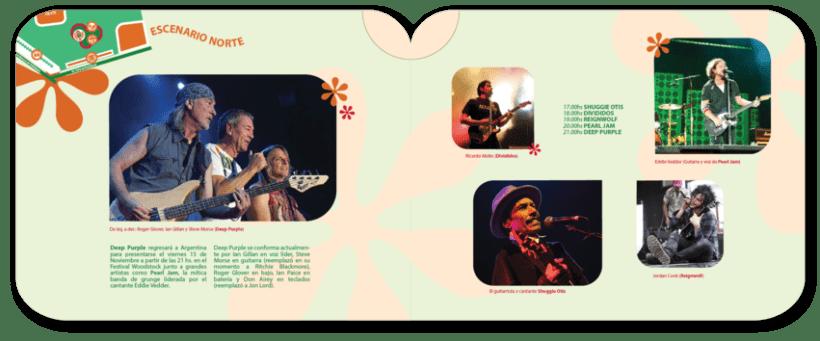 Librillo de festival ficticio Woodstock 2013 7