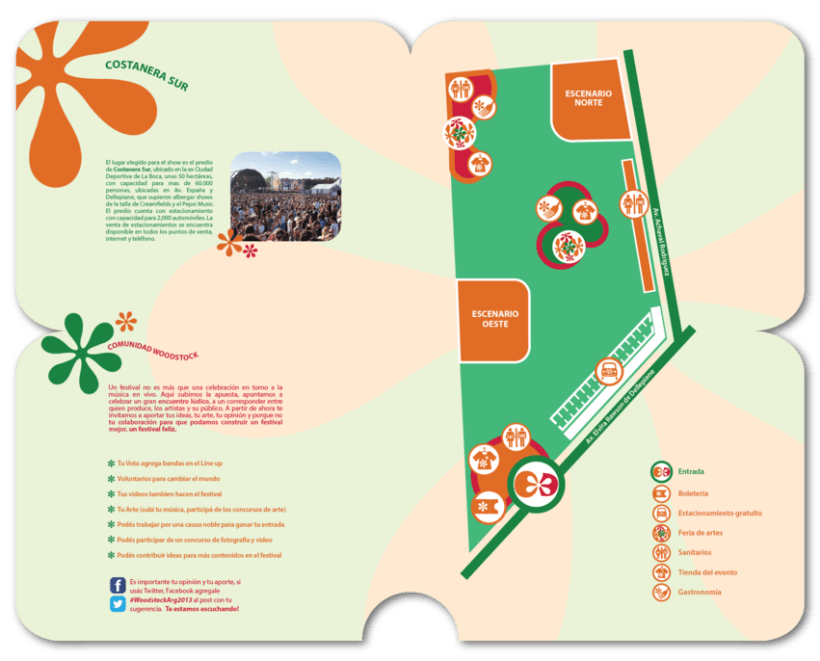 Librillo de festival ficticio Woodstock 2013 8