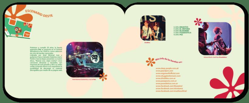 Librillo de festival ficticio Woodstock 2013 9