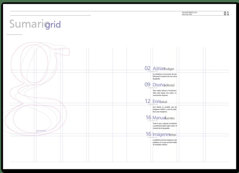 Revista Tipográfica Grid 3