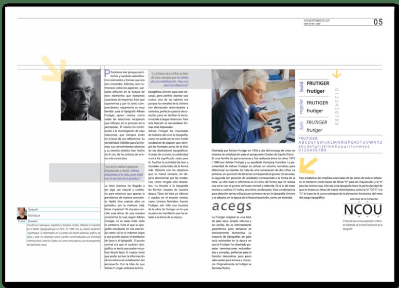 Revista Tipográfica Grid 5