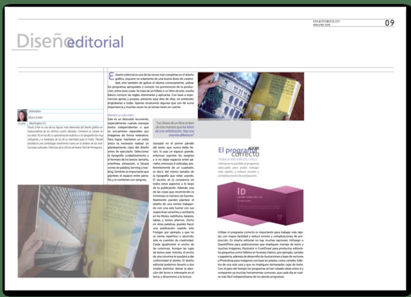 Revista Tipográfica Grid 7
