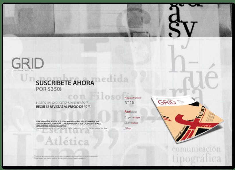 Revista Tipográfica Grid 8