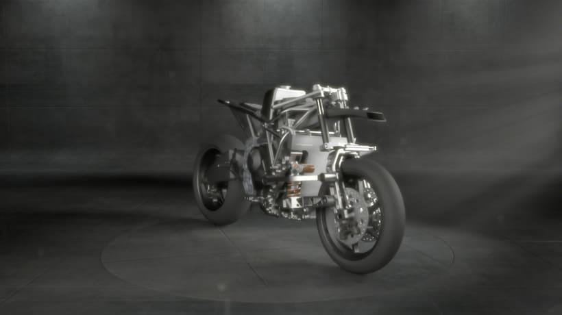 La Moto2 - Turnaround del prototipo 0