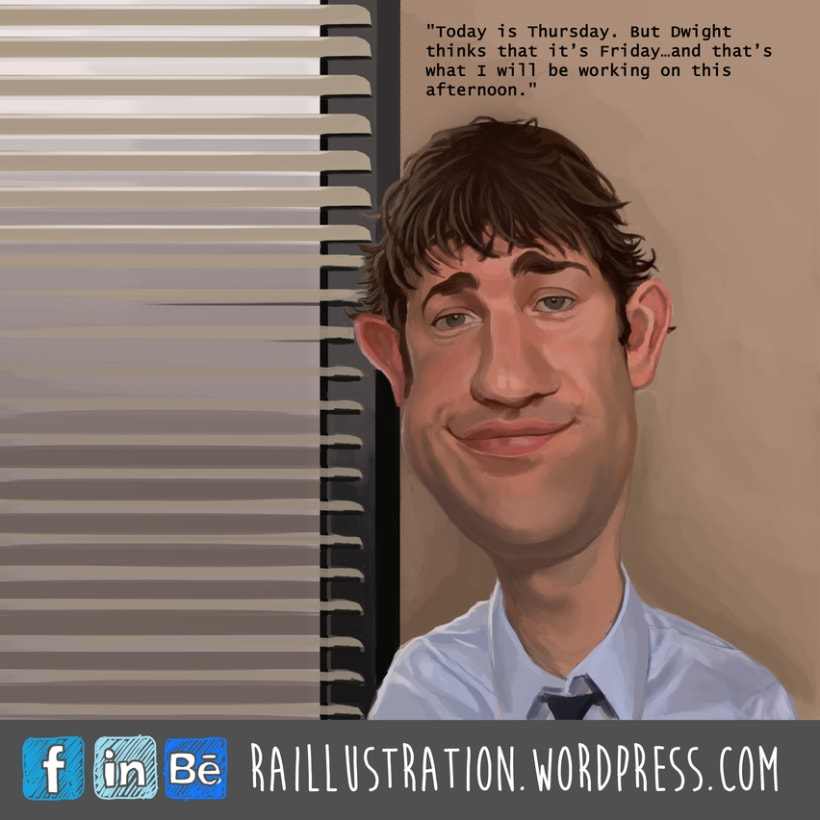 Caricaturas: The Office 2