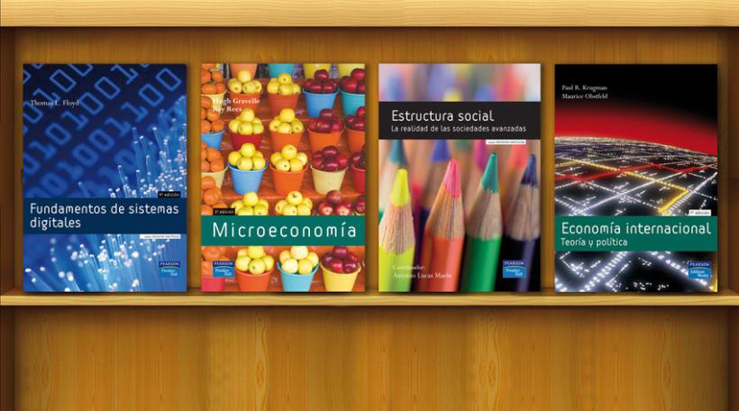 Diseño editorial para Pearson Educación 2