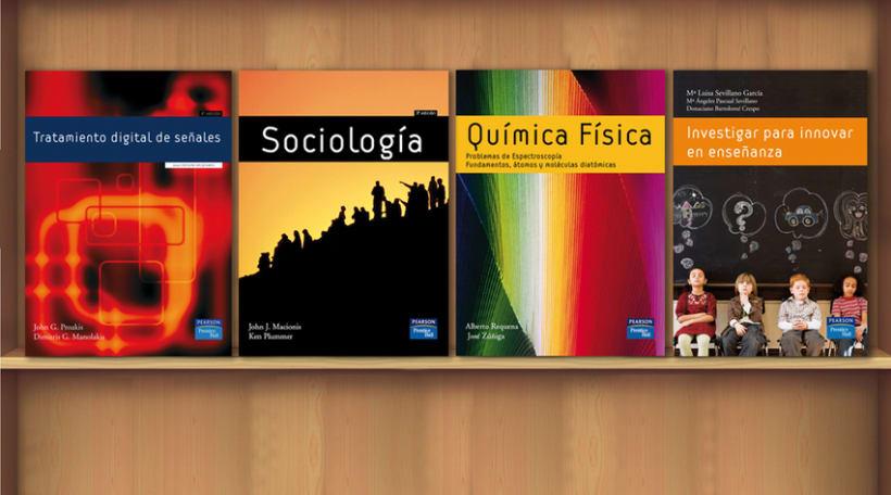 Diseño editorial para Pearson Educación 3