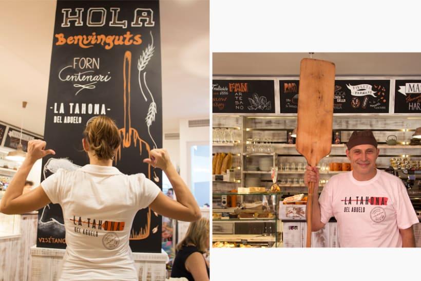 La Tahona del abuelo, horno tradicional y cafetería. Valencia / 2013-2014 7