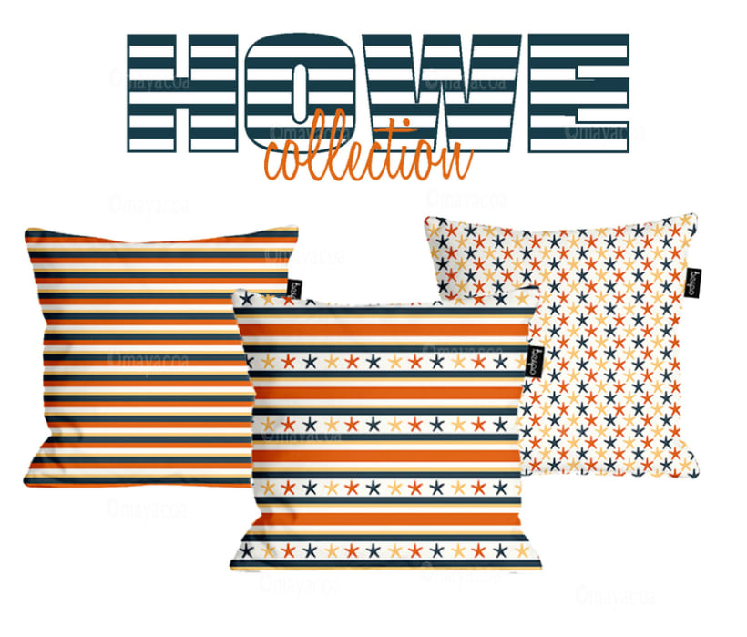 Howe Collection (estampado textil y de superficie) 0