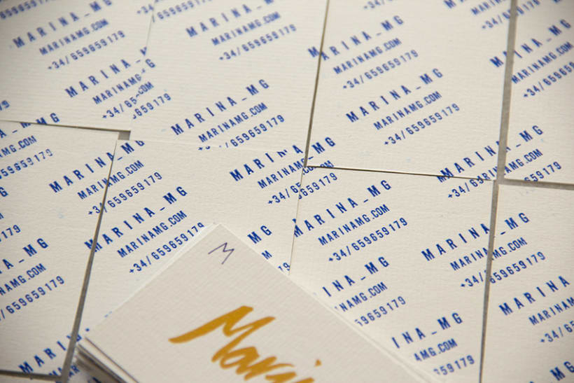 Marina mg tarjetas. 2