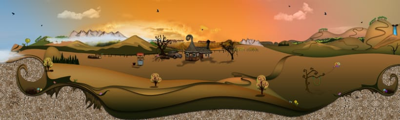 Vector Landscapes 2
