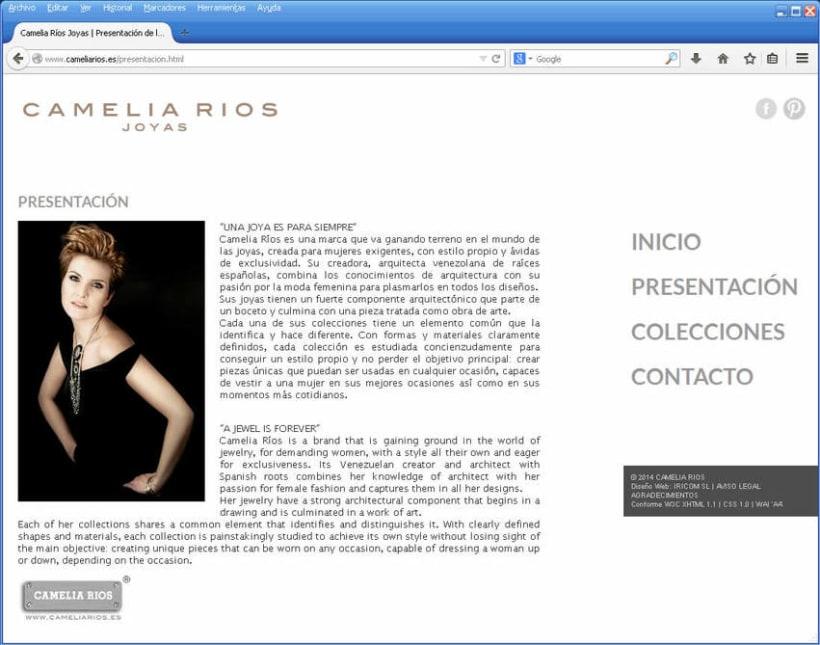 Web Camelia Ríos Verano 2014 0