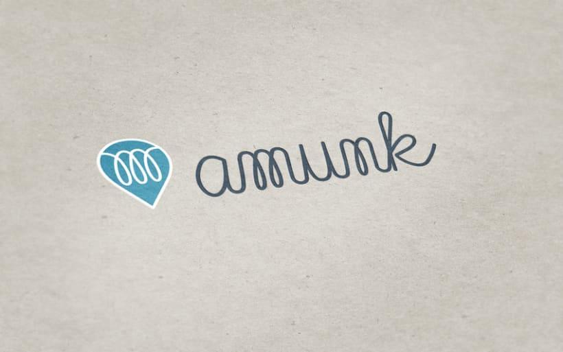 Diseño personalizado - Logotipo Amunk -1
