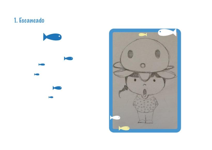Mi Proyecto del curso Crea un Art Toy os presento a Pulpi Uoh! -1