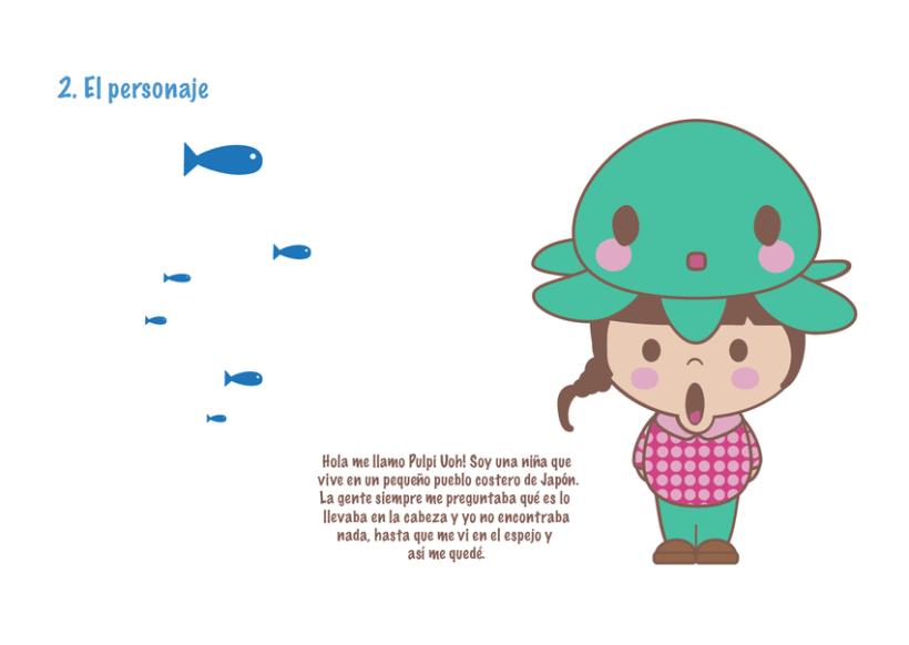 Mi Proyecto del curso Crea un Art Toy os presento a Pulpi Uoh! 0