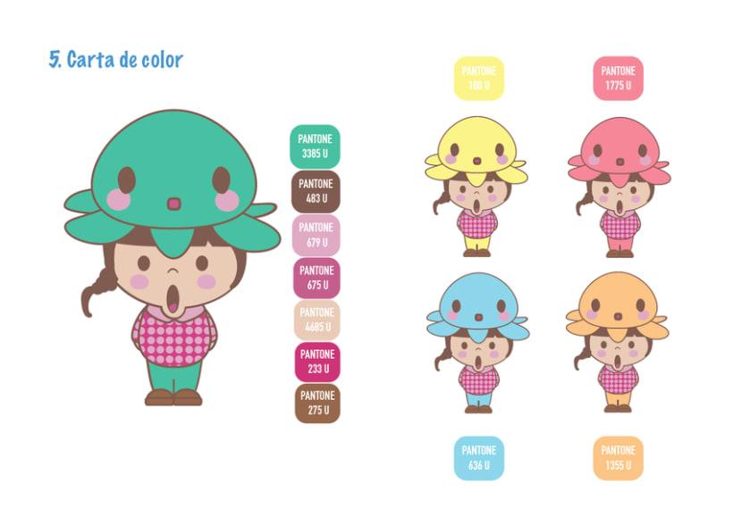 Mi Proyecto del curso Crea un Art Toy os presento a Pulpi Uoh! 3