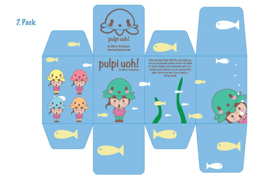 Mi Proyecto del curso Crea un Art Toy os presento a Pulpi Uoh! 5