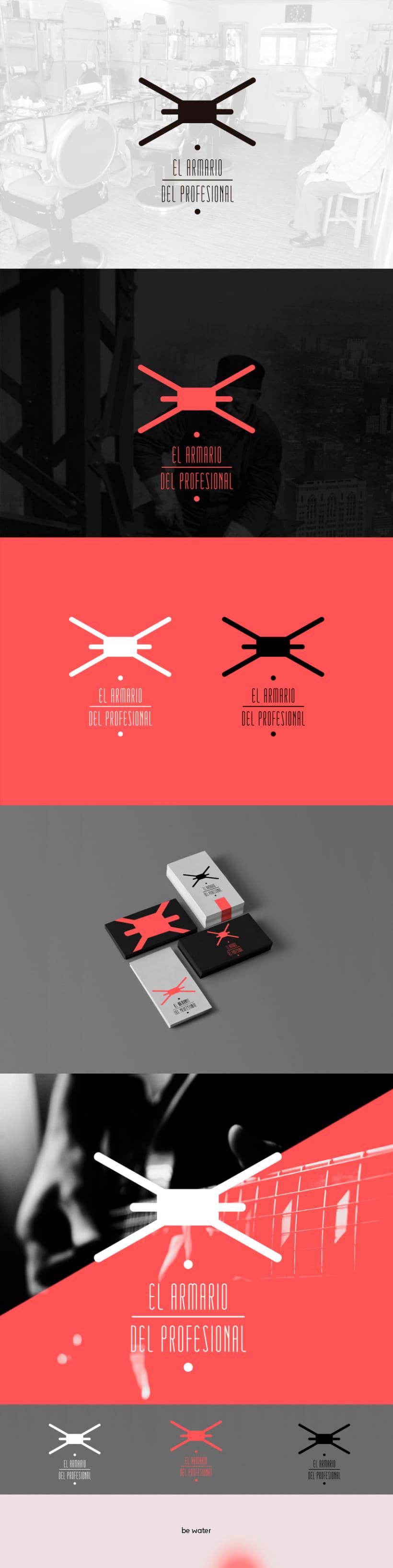 """Logotipo """"El Armario del Profesional"""" -1"""