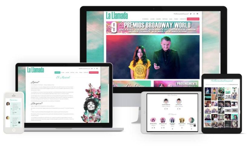 """La LLamada """"El musical"""" -1"""