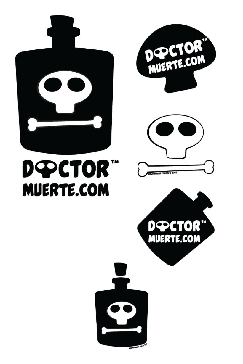 Logo Doctor Muerte (se come el mundo) -1