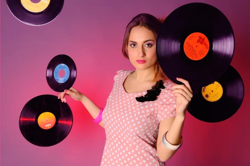 Retro Music Style 3