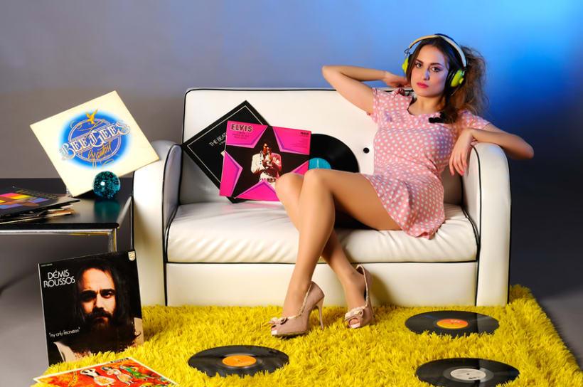 Retro Music Style 4