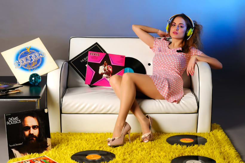 Retro Music Style 5