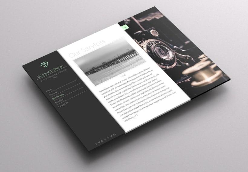 Blinds Wordpress Theme 1