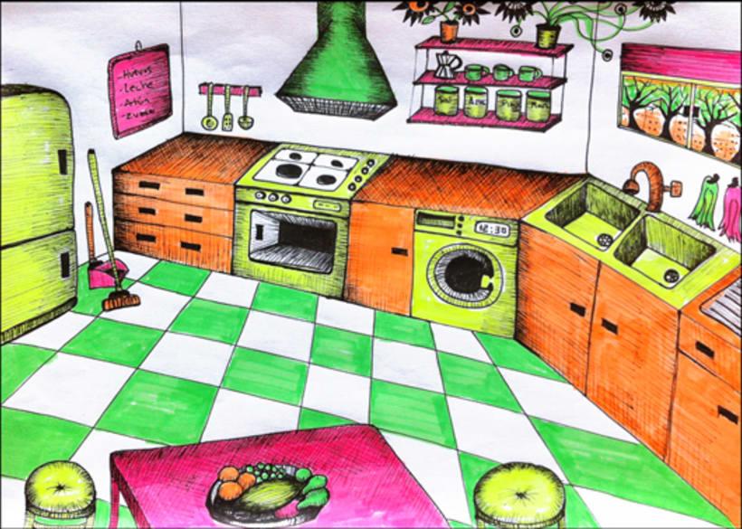 The highlighter house (en proceso) 2