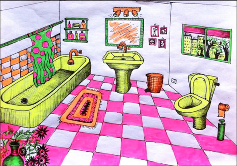 The highlighter house (en proceso) 4