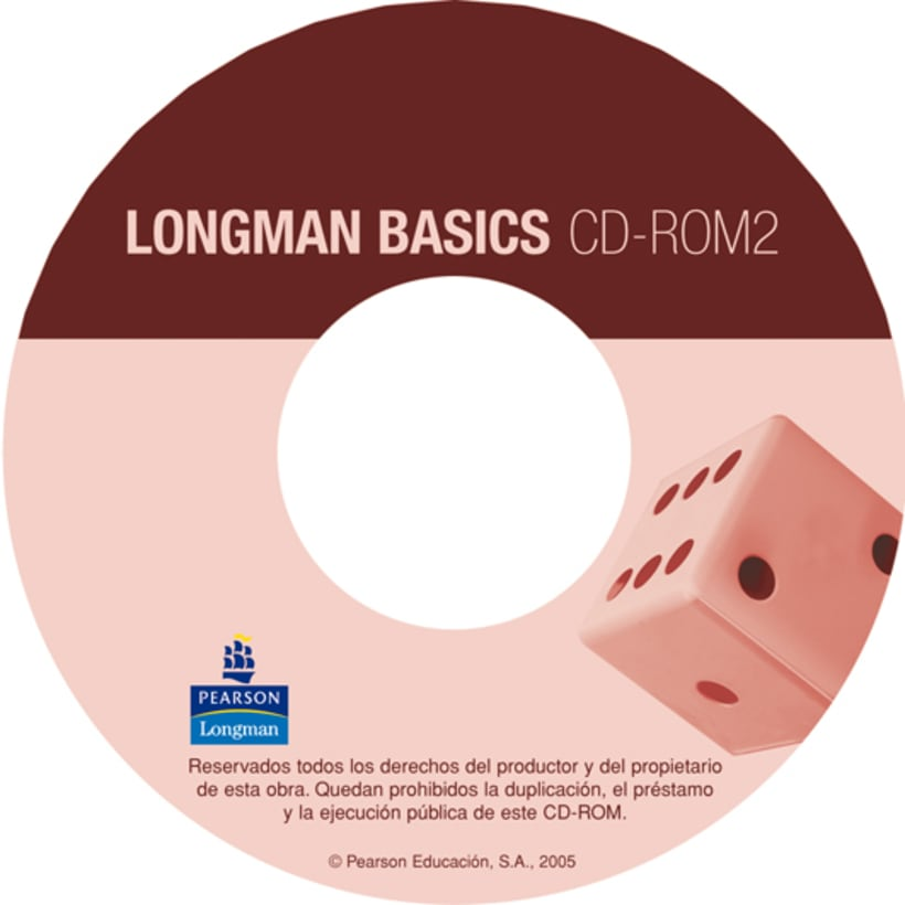 CD cover designs Longman Basics 5