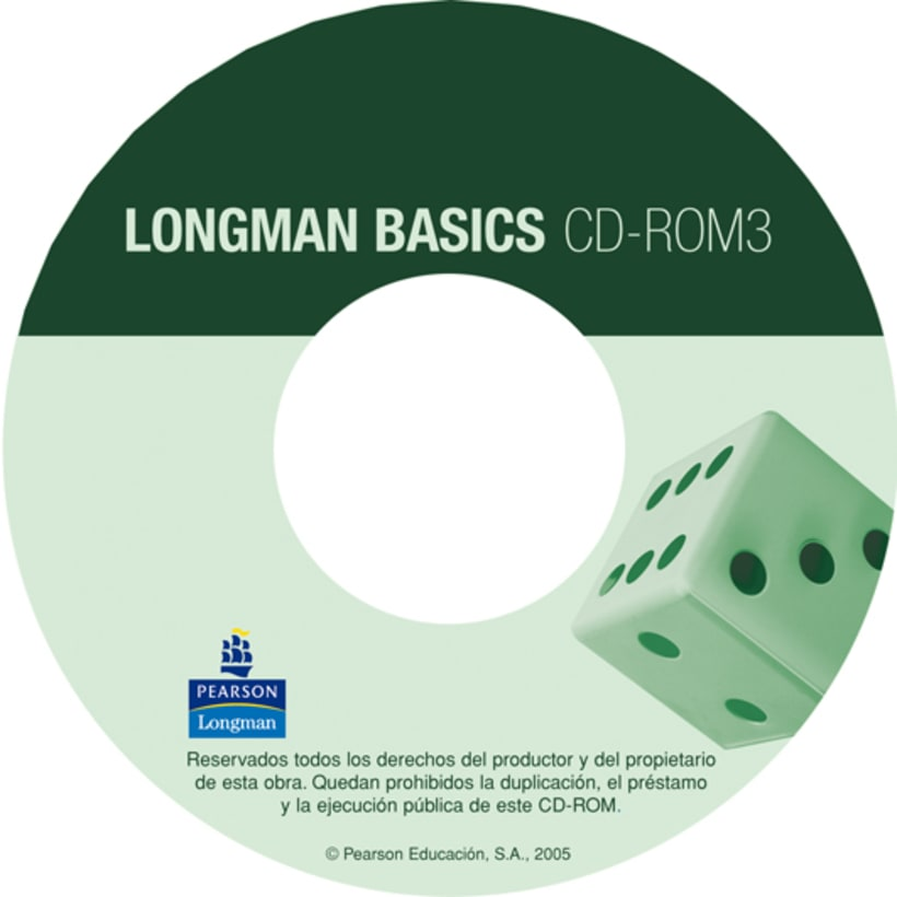 CD cover designs Longman Basics 7