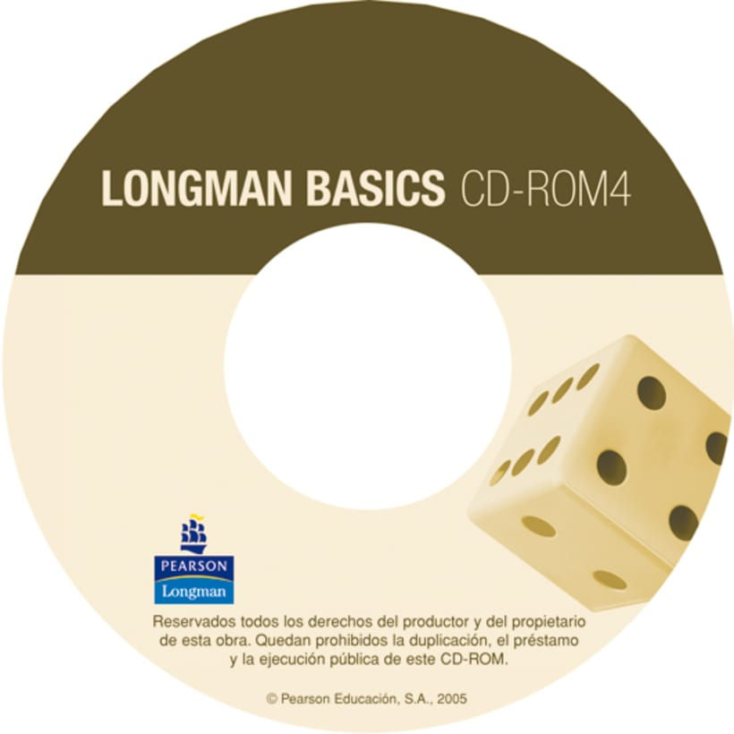 CD cover designs Longman Basics 9