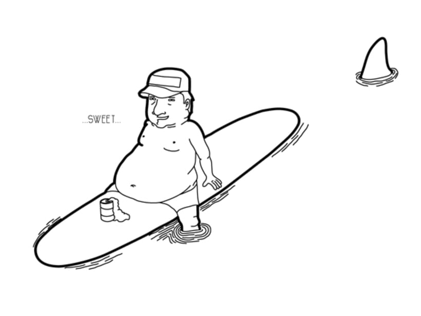 Illustration | Surf characters 2