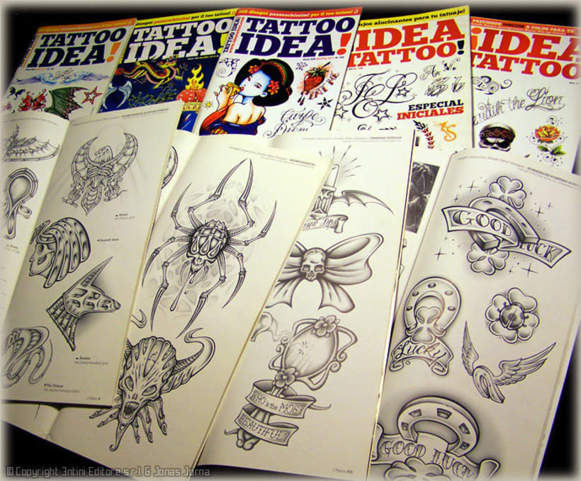 "Diseños para revista ""IDEA TATTOO"" -1"