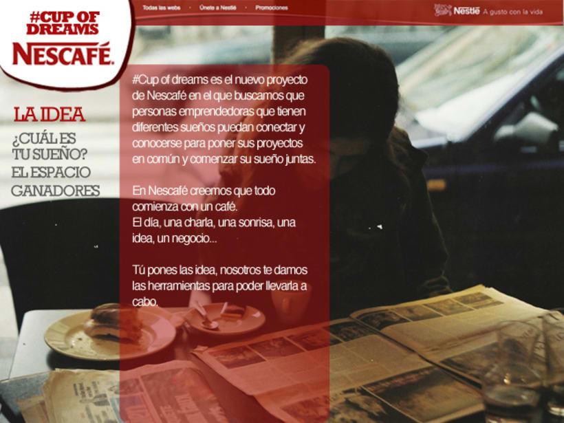 Cup Of Dreams- Campaña para Nescafé (El Sol Bilbao 2014) 1