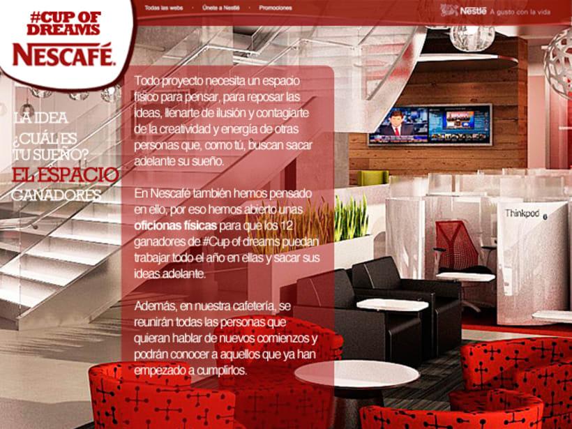 Cup Of Dreams- Campaña para Nescafé (El Sol Bilbao 2014) 3